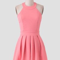 Madly In Love Halter Dress