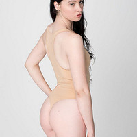 Cotton Spandex JerseyTank Thong