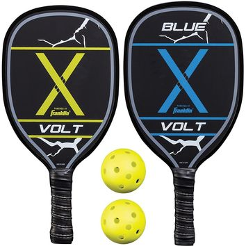 Franklin 2 Player Wood Pickleball Paddle And Ball Set