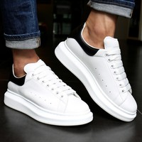 Alexander McQueen Black&White Shoes Fashionable casual shoes B-CSXY