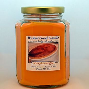 Glass Jar Candle - Pumpkin Souffle