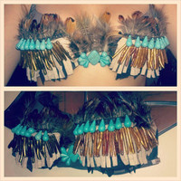 FREE SHIPPING Pocahontas/ Native American-inspired Rave and Festival Bra