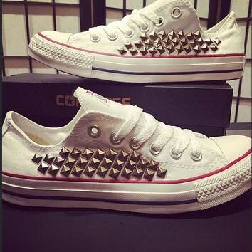 Custom Converse All Stars - Studded Chuck Taylors! ALL SIZES & COLORS!