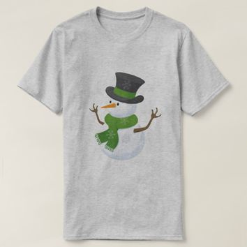 Winter time time fun snowman T-Shirt
