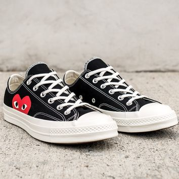 CDG PLAY CONVERSE CHUCK TAYLOR ALL-STAR  70 OX 375f504ec7f3