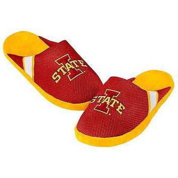 Iowa State Cyclones Jersey Mesh SLIDE SLIPPERS New -   - NCAA