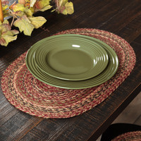 Cider Mill Braided Jute Placemat