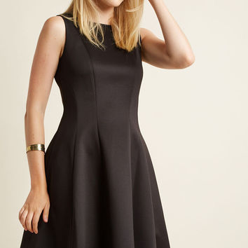 Ahem, A-Hem Fit and Flare Dress