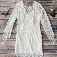Kamora Lace Dress (White)
