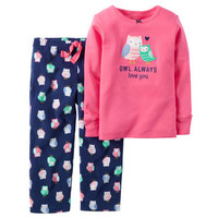 2-Piece Thermal & Fleece PJs