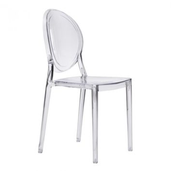 Specter Dining Chair | Clear