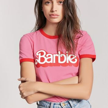Barbie Ringer Tee