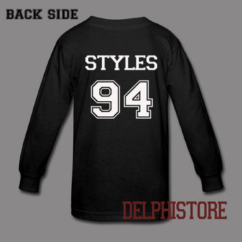 harry styles one direction shirt harry styles shirt t shirt tshirt tee shirt printed long sleeve black and white unisex size (DL-103)
