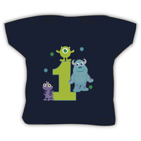 Baby Monsters Inc. 1st Birthday Boy Green 1 Kids Clothes