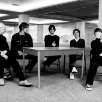 "Radiohead Poster Black and White Poster 24""x36"""
