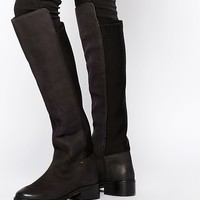 Miss KG West Two Leather Over The Knee Boots