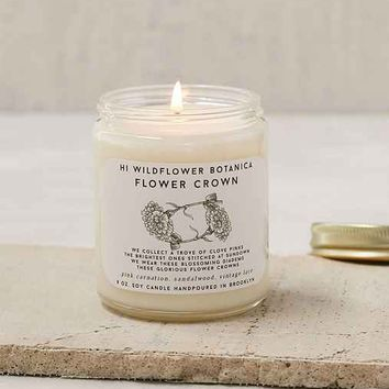 Hi Wildflower Botanica Soy Candle
