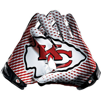 Men's Nike Kansas City Chiefs Vapor Jet 2.0 Gloves