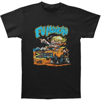 Fu Manchu Men's  Van Dude T-shirt Black