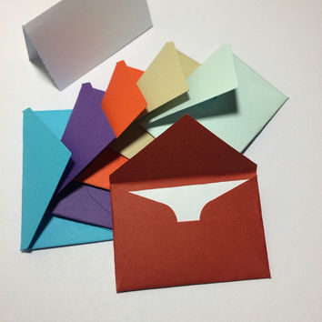 Small envelopes with cards 1.5x2.25""