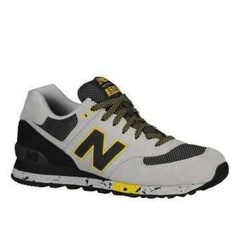 LMFON new balance 90s outdoor 574 grey black running sneaker
