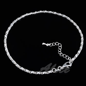 925 Silver Anklets anklets Factory Price Fashion Jewelry 10 inch Anklet MA008
