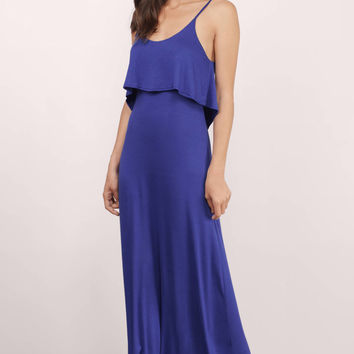 Beyond The Sea Maxi Dress