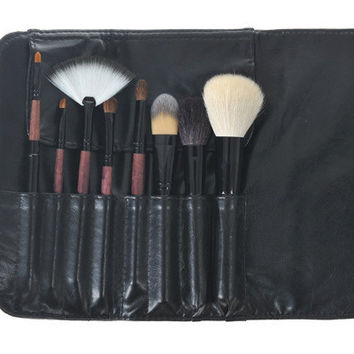 Brown Fashion Make-up Brush Set = 4831017796