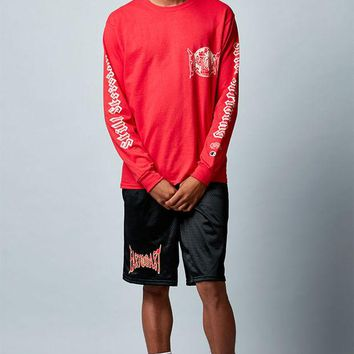 DCCKJH6 A$AP Ferg East Coast Long Sleeve T-Shirt