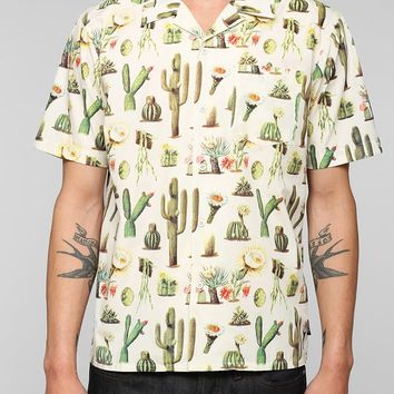 Brixton Vern Cactus Button-Down Shirt