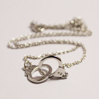 Gold/silver Handcuffs necklace/ Gold silver  Color, Trending Accessories, Bridesmaids Jewelries, Graduation Friendship Birthday Gift