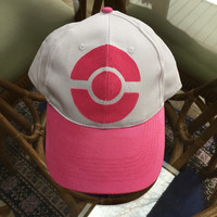 On sale**** Pink pokemon trainer hat