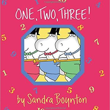 One, Two, Three! (Boynton on Board) Board book – October 1, 1993