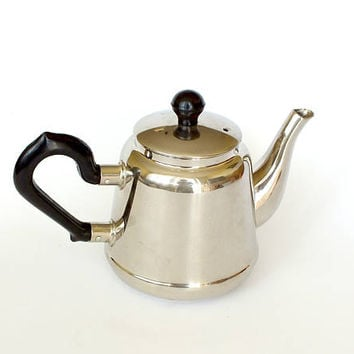 Vintage Teapot Kolchugino. Metal teapot, tea maker, a coffee maker from 70s. Russian Teakettle for Samovar. Fabulous decor vintage kitchen