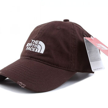Perfect The North Face Women Men Embroidery Leisure Sunshade Cap Sport Baseball Cap Hat