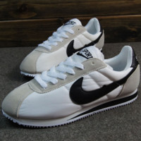 NIKE Cortez Forrest gump lovers shoes running shoes running shoes Grey black hook