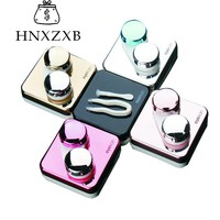 HNXZXB  Sutra Fashion Contact Lenses Storage Box  Contact lens Case Box Eyes Care Kit Holder Travel Washer Cleaner Container