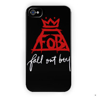 Fob Fall Out Boy Rock Band Music For iPhone 4 / 4S Case