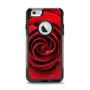 The Layered Red Rose Apple iPhone 6 Otterbox Commuter Case Skin Set