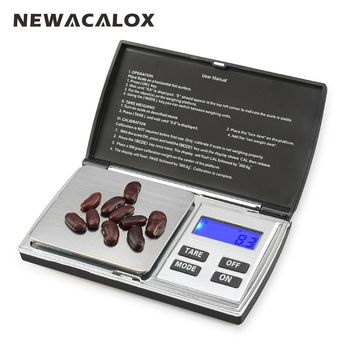 NEWACALOX 500g x 0.01g Digital Precision Electronic Scale