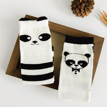 Toddler Baby Socks New Cartoon Design Knee High Socks Kid Girl Boy Autumn Winter Leg Warmers Children Socks Knee Pad Cute