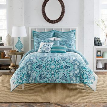 Anthology® Kaya Reversible Comforter Set in Blue