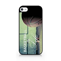 Ball Is Life - Basketball Is Life - iPhone 5C Black Case (C) Andre Gift Shop