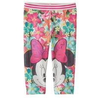 Disney's Minnie Mouse Sublimation Capri Leggings by Jumping Beans - Toddler Girl, Size: