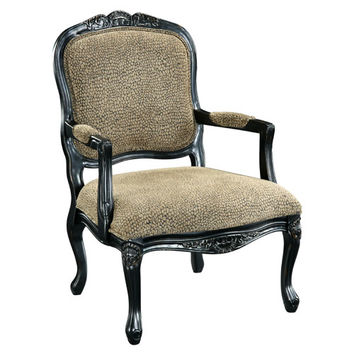 Coast to Coast Imports  32049 Reptile Print Accent Chair