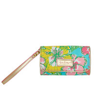 It's A Keeper Smart Phone ID Wristlet - Lilly Pulitzer
