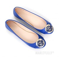 Monogrammed Ballet Flats | Marley Lilly
