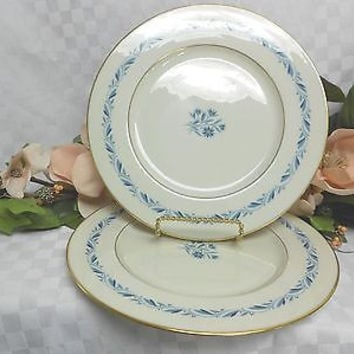 Lenox, China Dinnerware Blue Ridge Pattern# P316 set 2 dinner plate