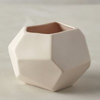Faceted Ceramic Vase by Anthropologie