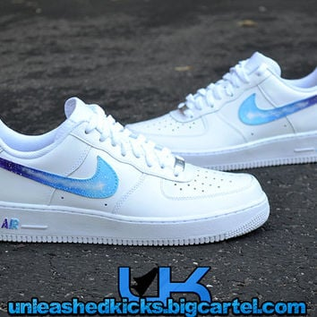 Custom Galaxy Nike Air force 1